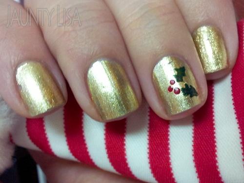 nail-art-natale-oro
