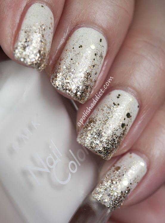 nail-art-bianco-oro