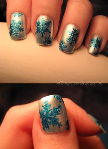 nail-art-natale-fiocchi-di-neve