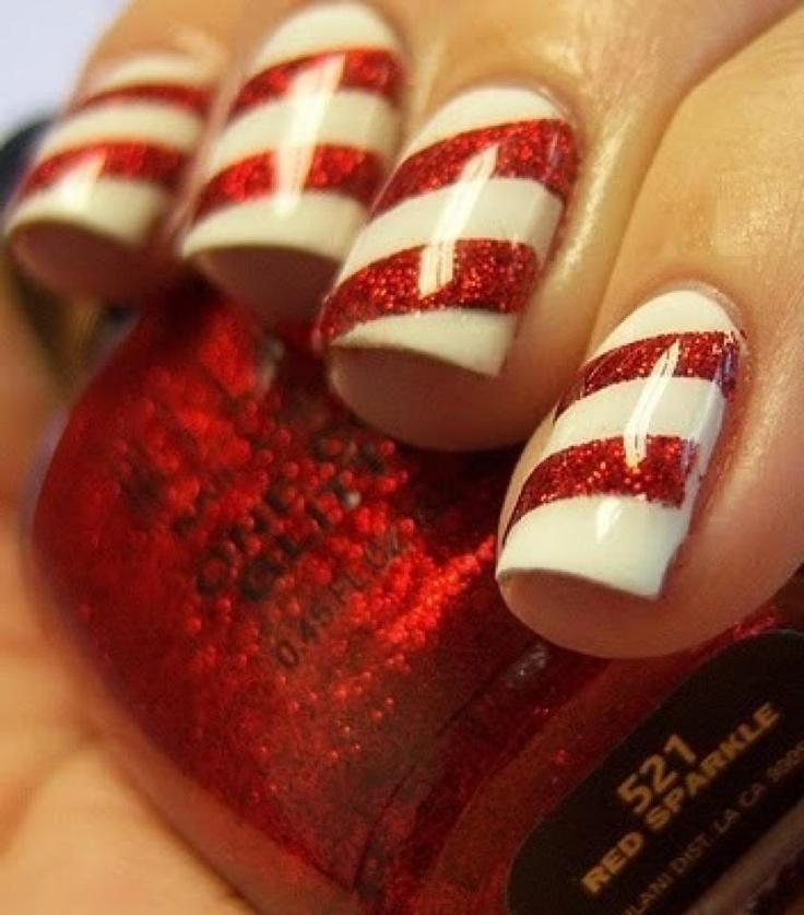 nail-art-rossa-bianca