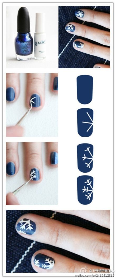 snow-nail-art