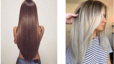 Acconciature capelli Lisci