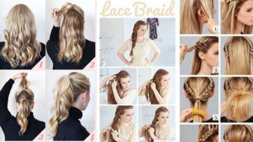 5 acconciature facili per capelli lunghi