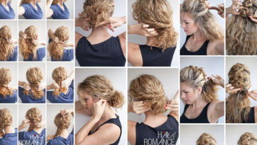 5 acconciature per capelli ricci