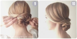 Come fare lo chignon