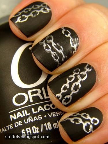 Nail art con smalti opachi