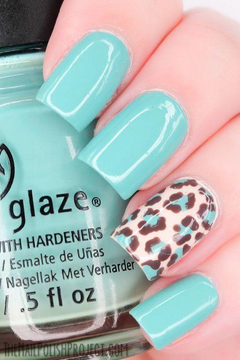 20 idee per Nail Art leopardate