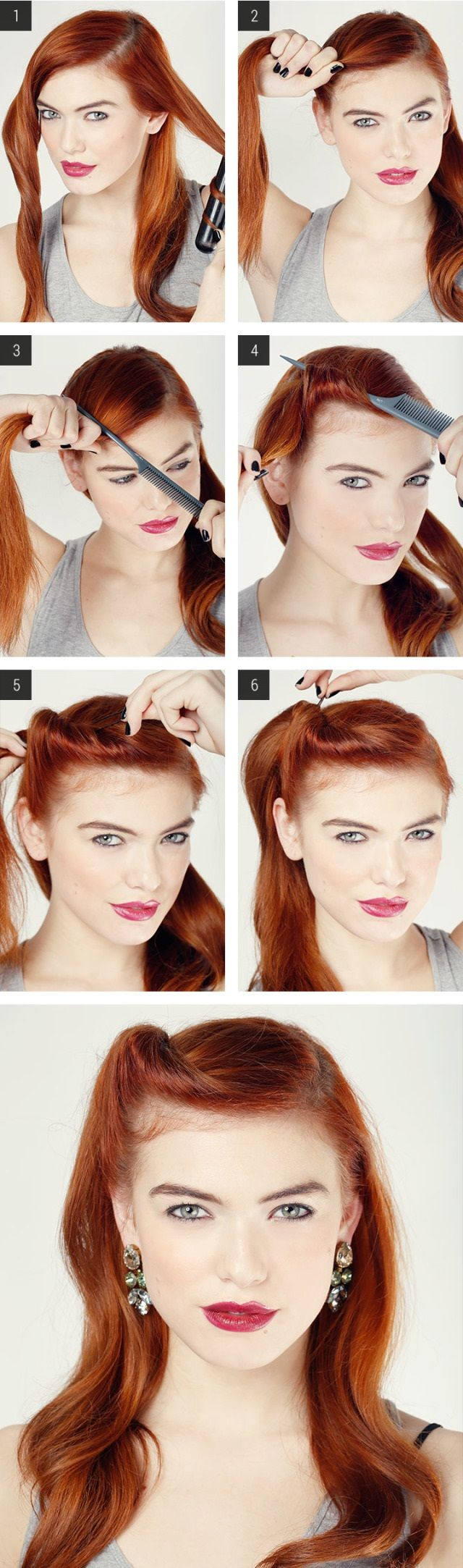 5 tutorial per acconciature con capelli lunghi