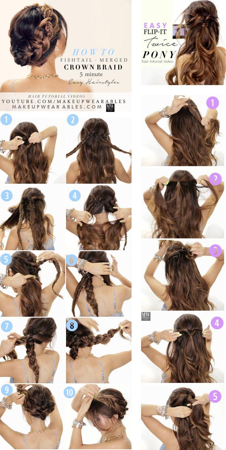 Acconciature capelli lunghi per il rientro a scuola
