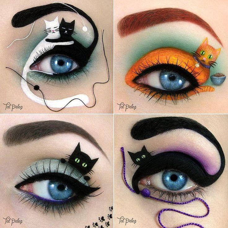 Occhi di gatto per Halloween
