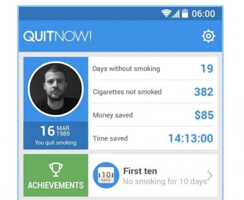 App per smettere di fumare Iphone e Android