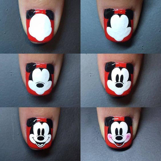 Nail Art Con Minnie E Topolino Beauty Dimmicosacerchi