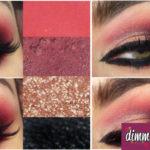 Come truccare gli occhi con il rosso