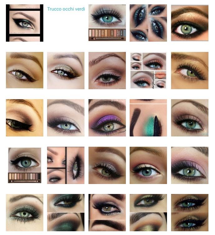 Amato Trucco occhi verdi: foto, idee e tutorial – Beauty DimmiCosaCerchi NH23