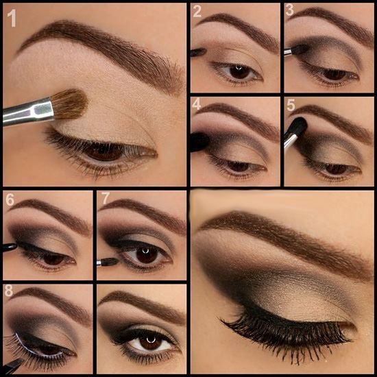 Favoloso tutorial-trucco-occhi-marroni- – Beauty DimmiCosaCerchi BA12