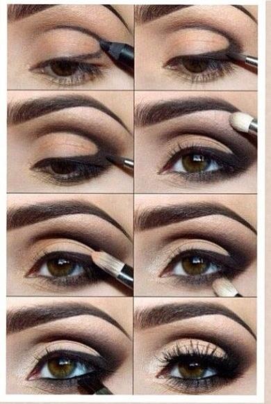 Molto Trucco occhi marroni: foto, idee e tutorial – Beauty DimmiCosaCerchi CM26
