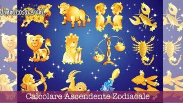 Ascendente zodiacale, come calcolarlo